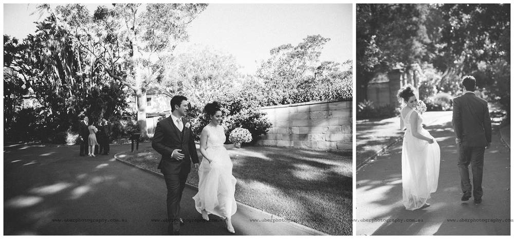 Relaxed candid wedding photography