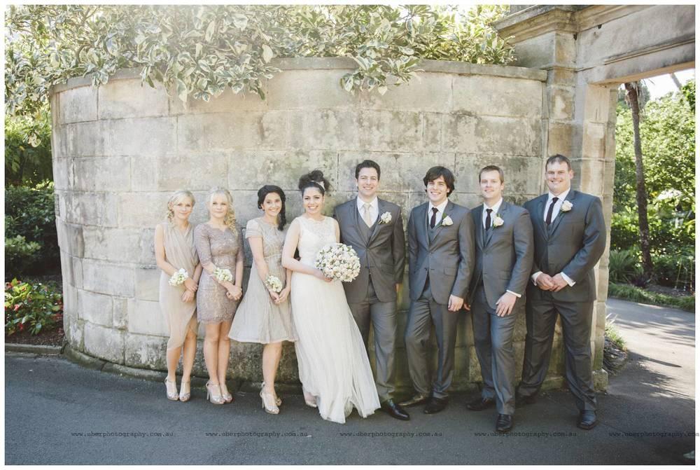 Sydney bridal party photos