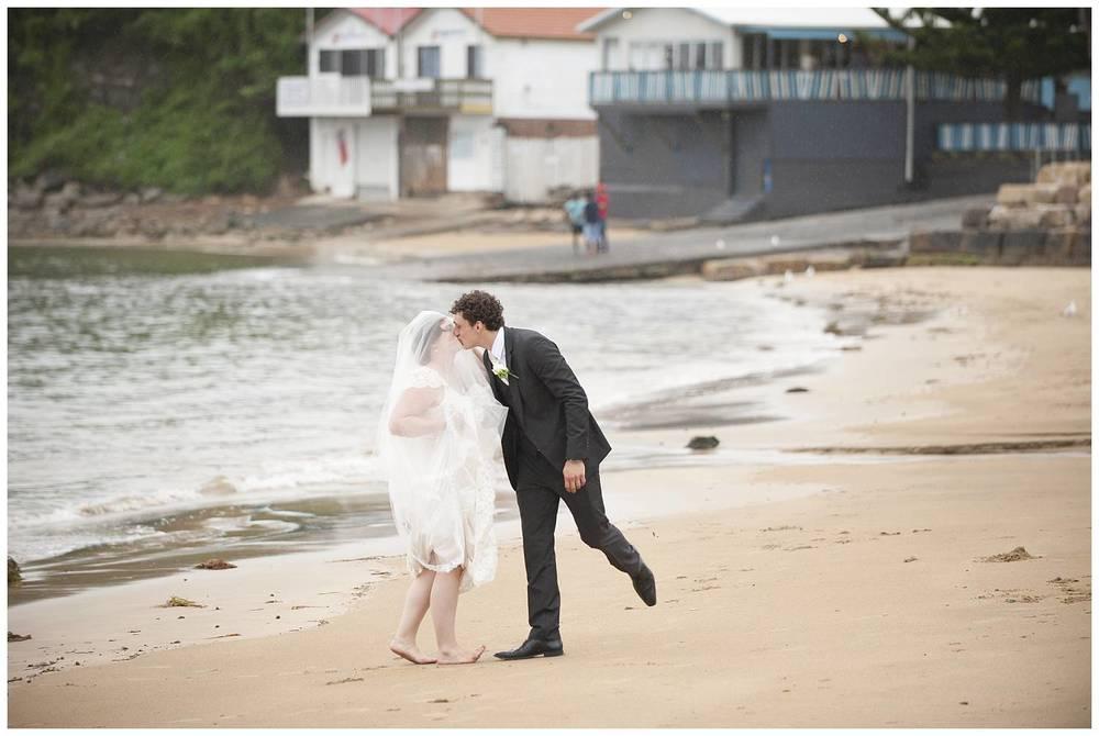 Terrigal beach wedding photos