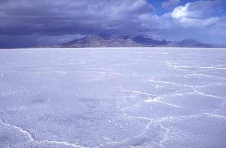Bonneville Salt Flats, AKA the largest Margarita glass rimmer on earth.