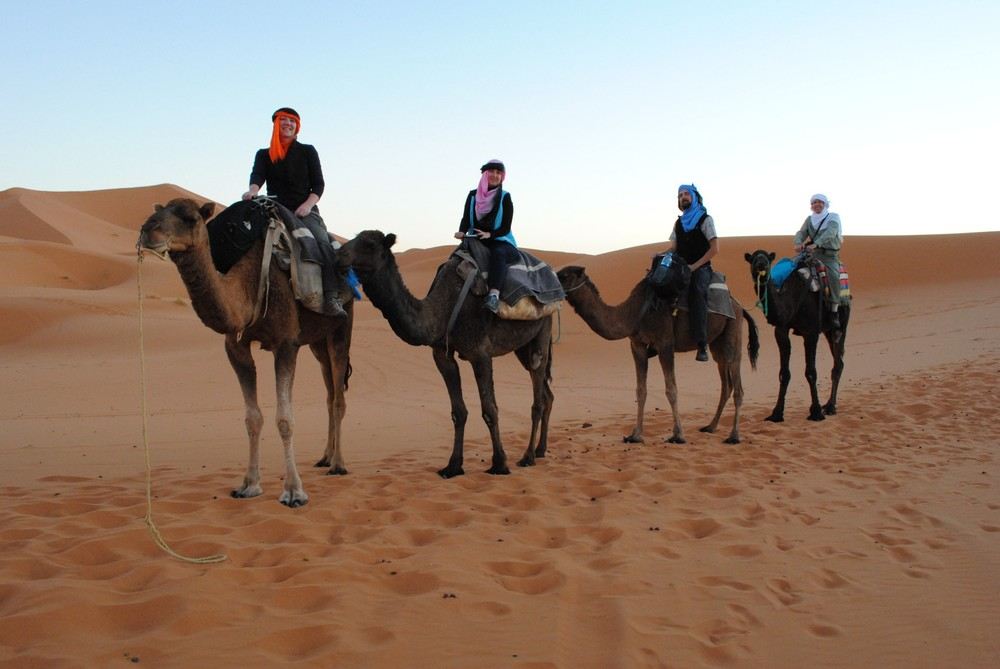 I have now checked camel off of my list of modes of transportation. It was fun, if not comfortable.