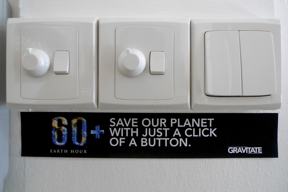 GRAVITATE SUPPORTS EARTH HOUR