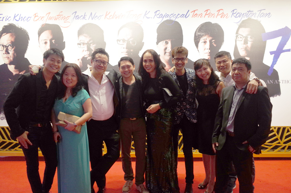 The team with director Eric Khoo