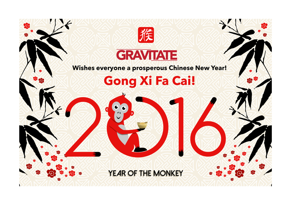 Gong Xi Fa Cai! from Gravitate.