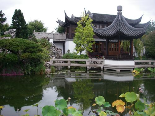 Tea House in Chinese Gardens