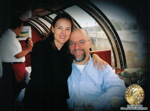 On the Napa Wine Train