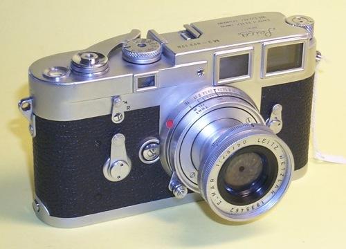 Leica M3 w/ 50mm Elmar f2.8