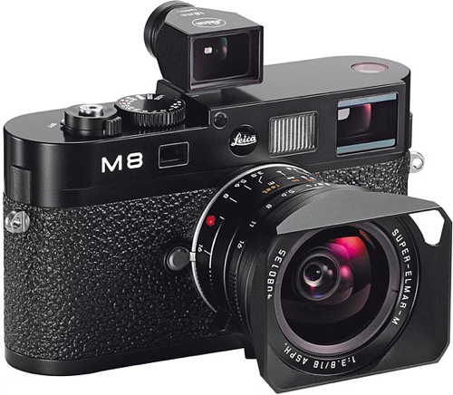 Leica M8 with 18mm Super-Elmar-M and Viewfinder