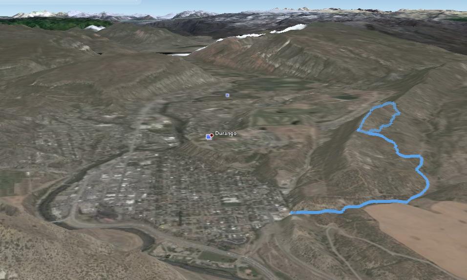 Ridge Line Hike Overlooking Durango