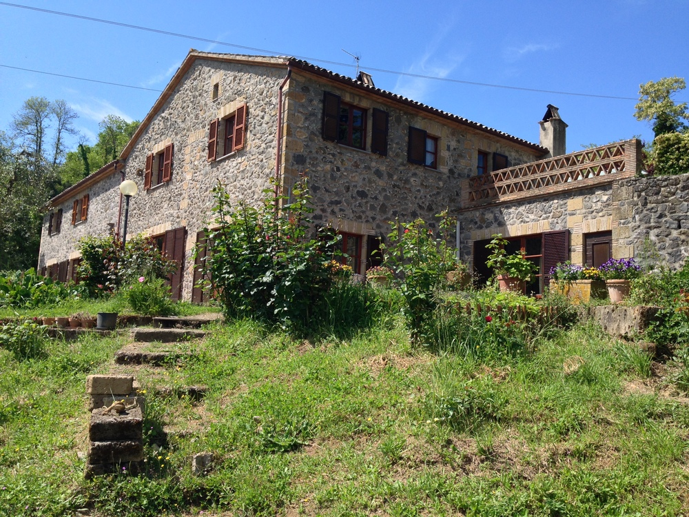 Our residence during the stay in Umbria