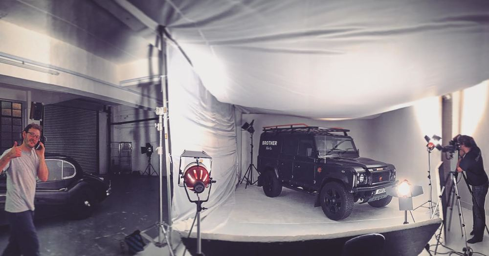 land rover shoot!