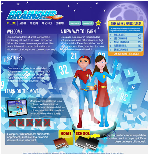 Brainship Home Page