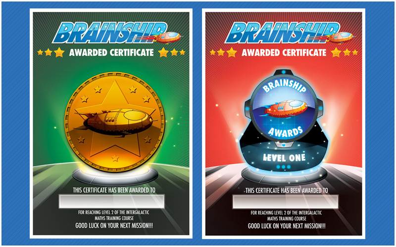 Brainship Certificates