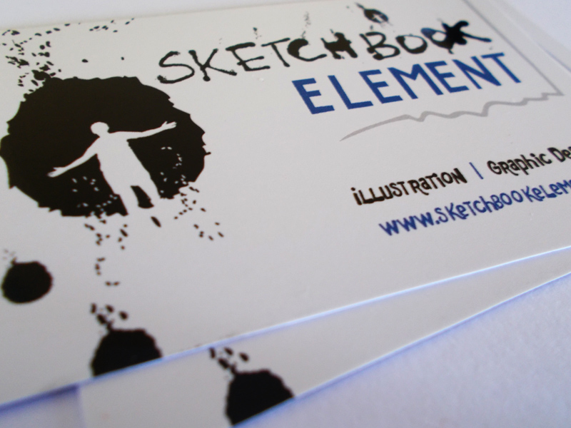 Sketchbook Element: Business Cards