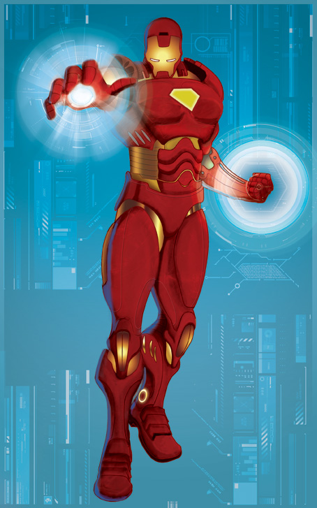 Illustration:  Ironman