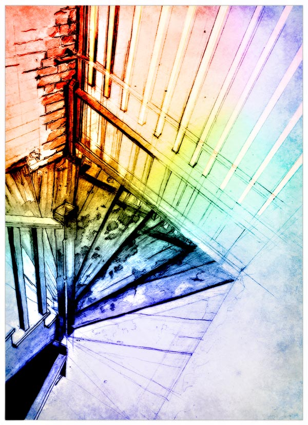 Older Work:  Chicago Stairs