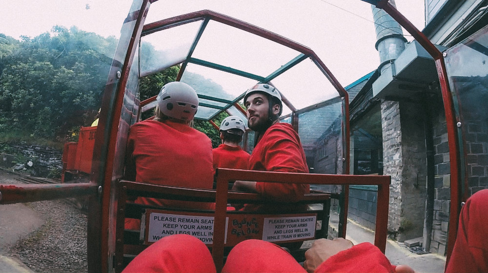 WALES Mike On Bounce Below Tram 2.jpg