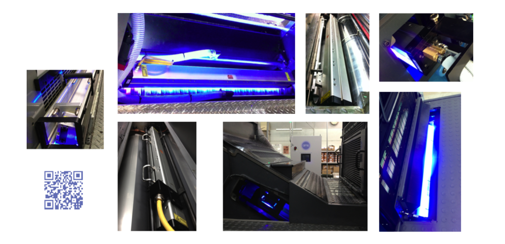 AMS Leads Offset UV LED Installations Worldwide
