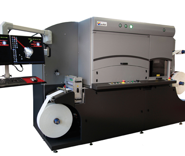 AMS LED UV systems are available in both pinning and final curing versions for specific application in a new generation of production inkjet machines (image courtesy of INX Digital).