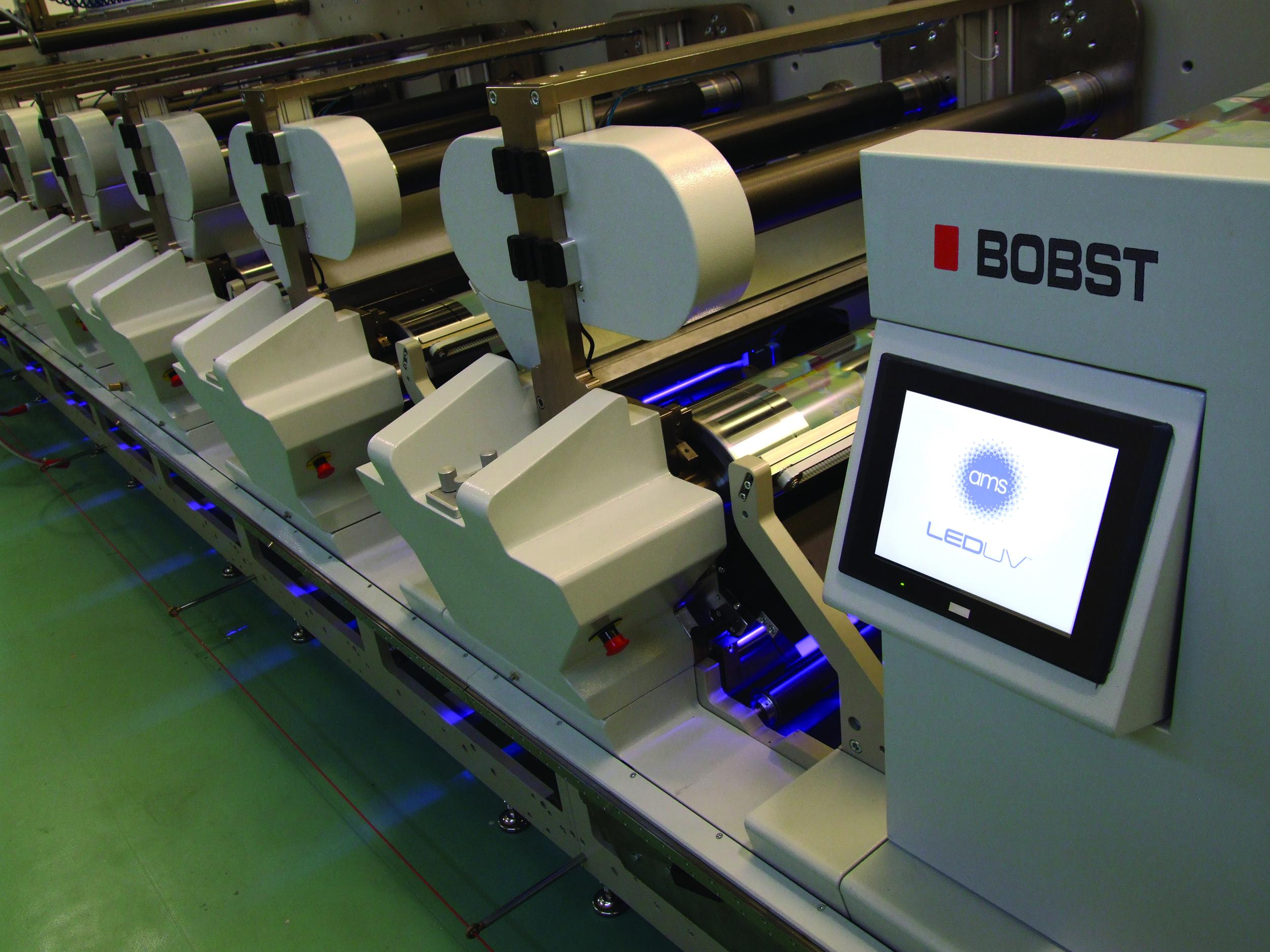 Color printing bobst - New Bobst M5 Ams For Narrow Web Flexo Led Uv Pioneer
