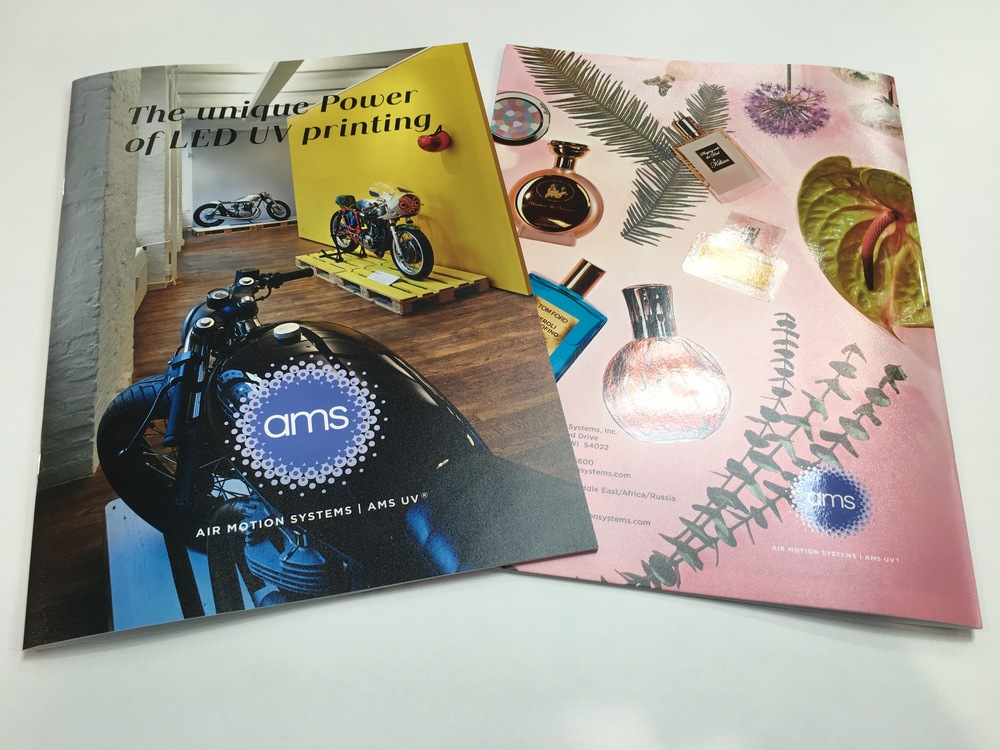 The inaugural version of the AMS LED Look Book brilliantly illustrates the range of quality, materials and effects possible with LED UV printing, and it could be seen in nearly every hall at drupa.