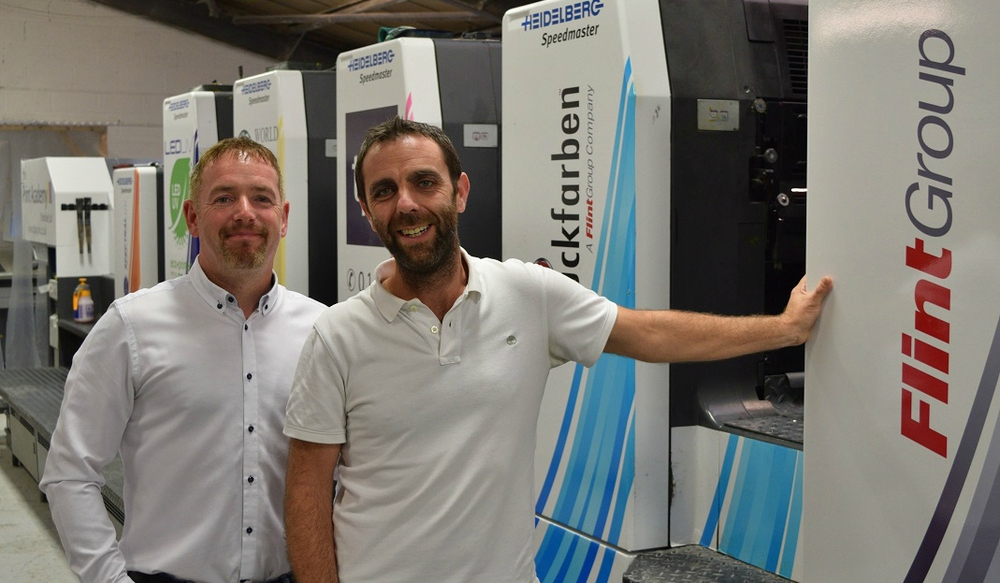 Yorkshire printer is prepared to be a showcase for benefits of adding AMS LED to revitalise a mature Heidelberg Speedmaster CD102.