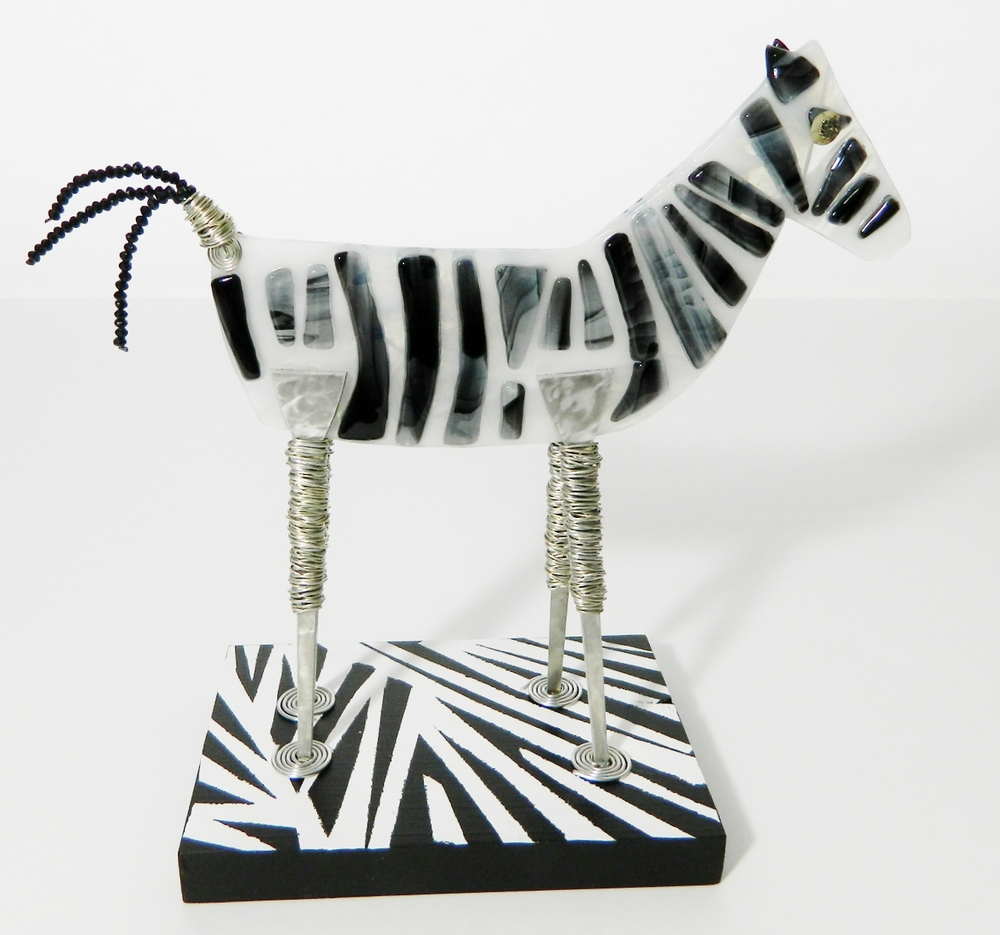 Introducing Dallas the zebra.