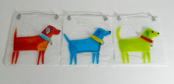 Puppy Tiles, available at Evergreen Framing Co & Gallery