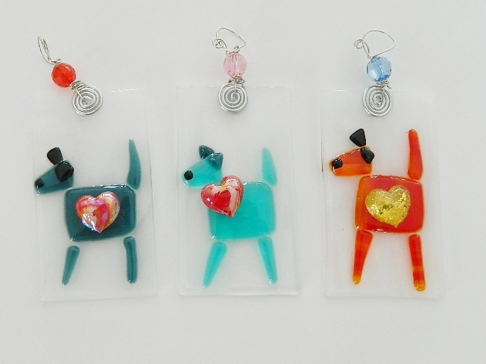 Dog Ornaments $18 each.