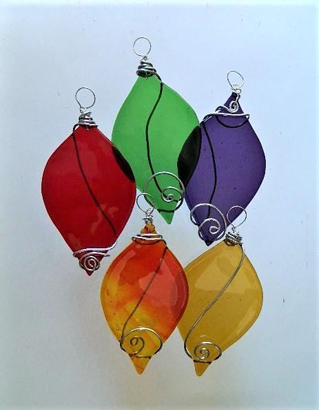 Leaf Ornament - $17.00 ea