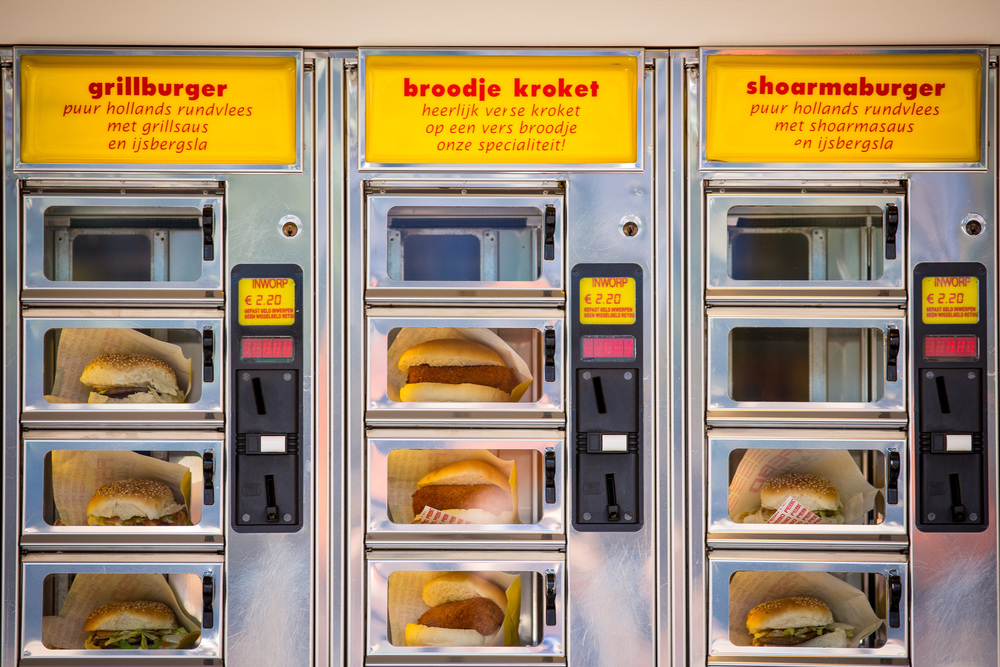 Broodjes en burgers. © Matt Peyton