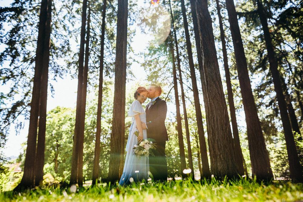 Oaks Pioneer church Amusement Park Portland wedding0054 .JPG