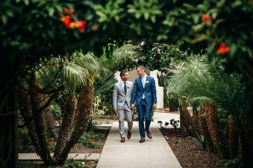 La Jolla San Diego California Same Sex gay destination wedding Hotel Estancia069.JPG