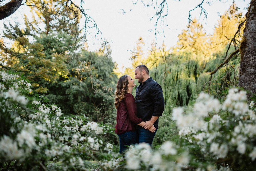 Hoyt Arboretum Engagement session photography Portland oregon 1.jpg