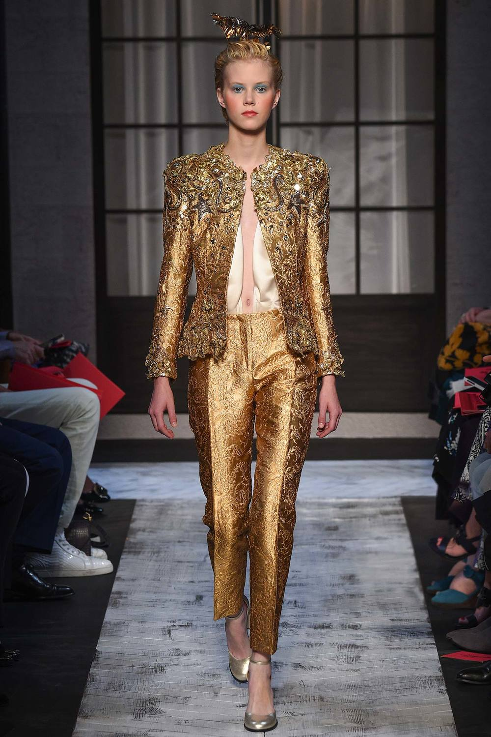 Designer: Schiaparelli, Photo Credit: Style.com