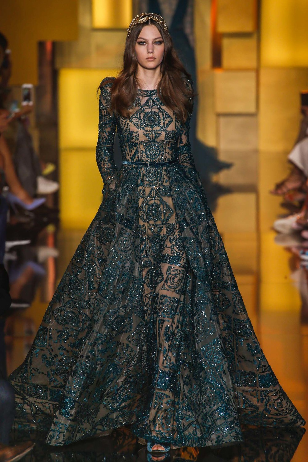 Designer: Elie Saab, Photo Credit: Style.com