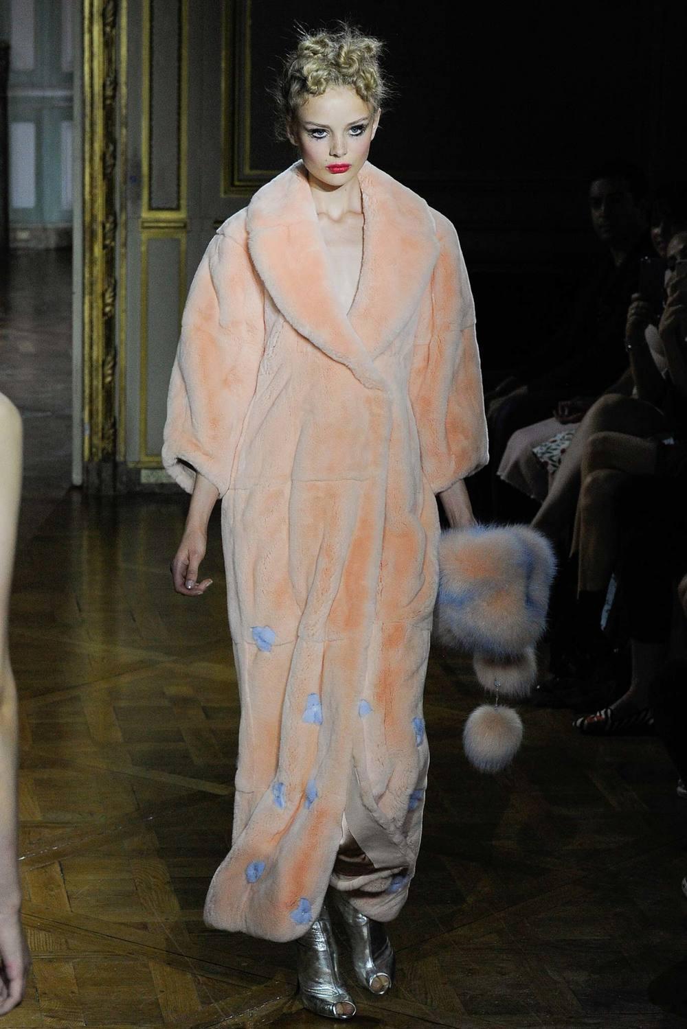 Designer: Ulyana Sergeenko, Photo Credit: Style.com