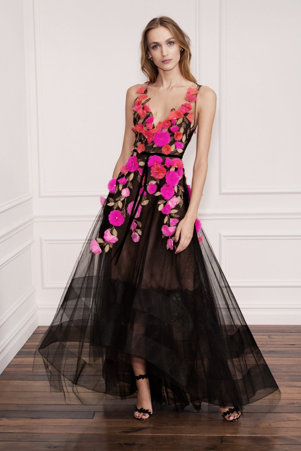 Marchesa - Red & Fuchsia Flowers