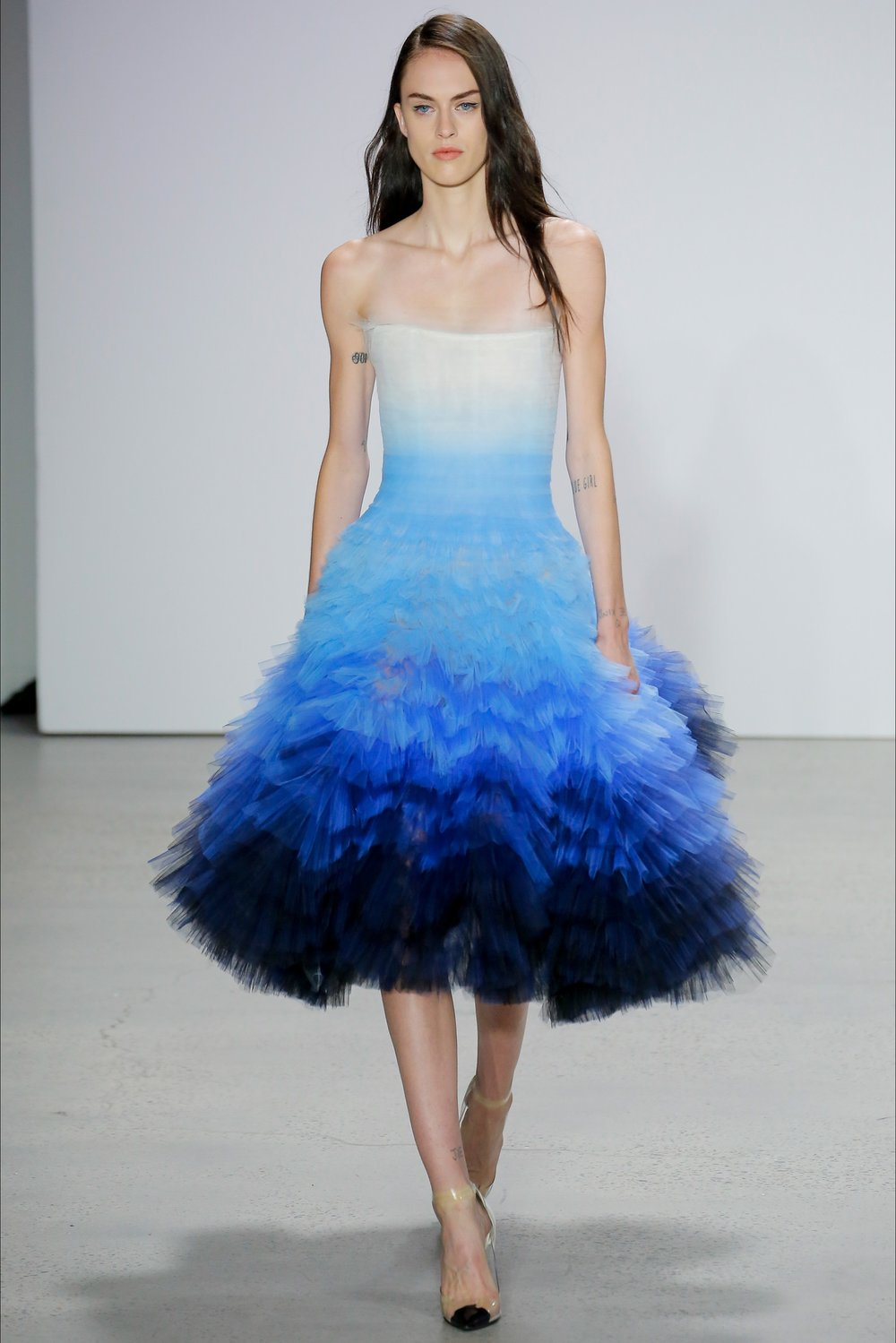 Oscar de la Renta- Gradient Night Sky