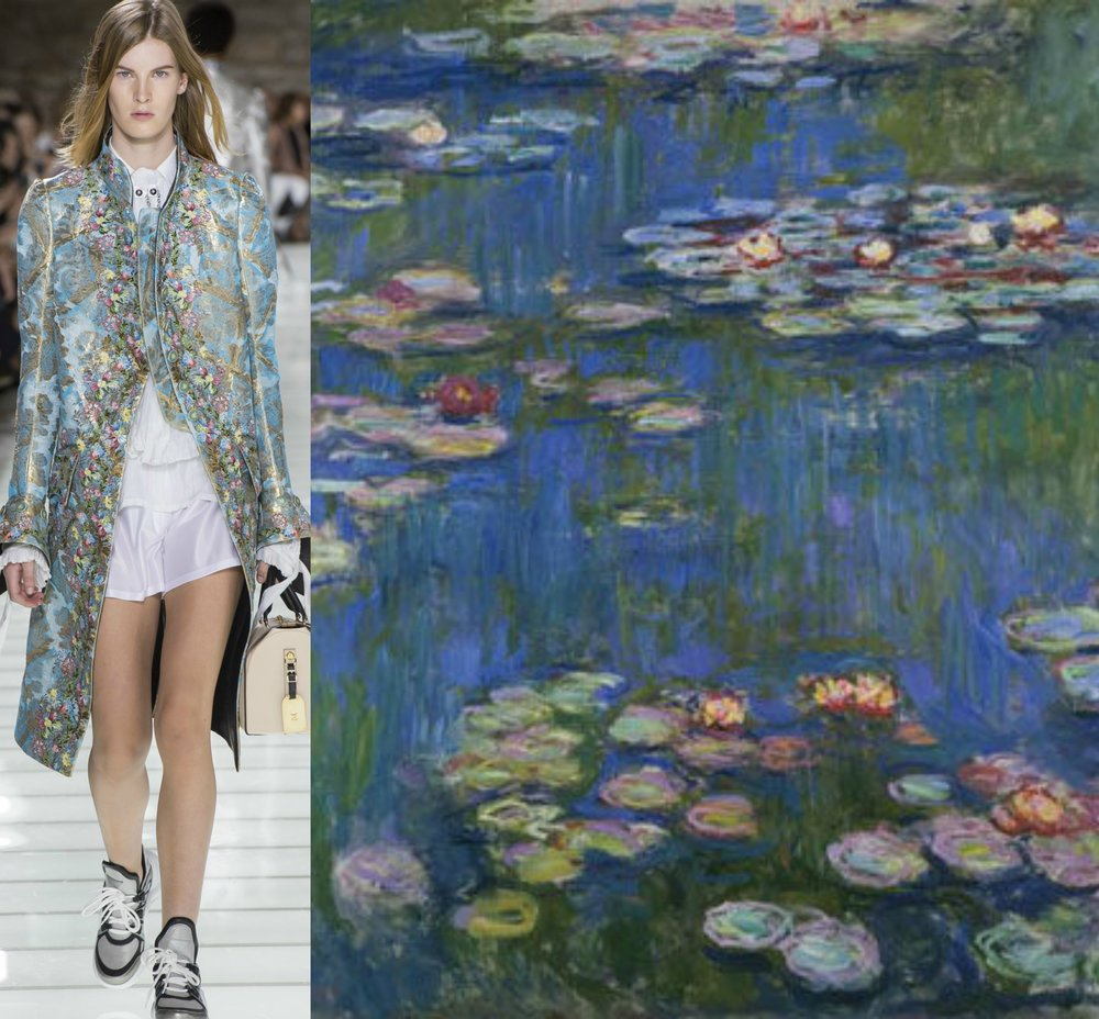 Louis Vuitton - Claude Monet
