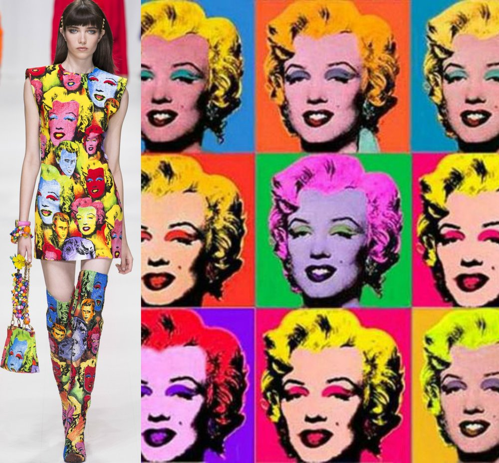 Versace - Andy Warhol