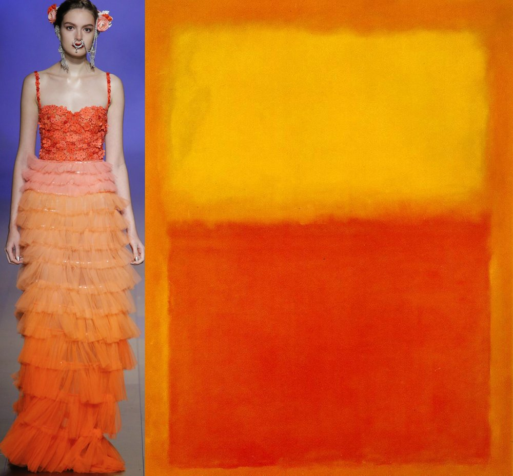 Naeem Khan - Mark Rothko