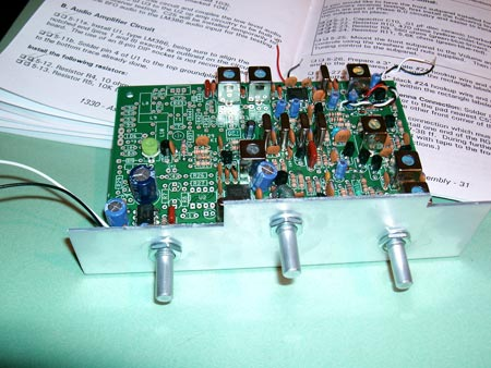 Receiver BFO and Audio Amplifier Complete