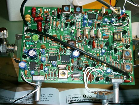Completed Transmitter Driver, Amplifier, Output Filter