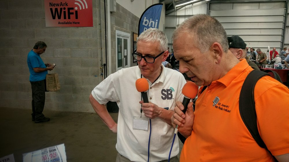 Martin Butler (M1MRB / W9ICQ) interviews Richard (G3CWI) of Sotabeam