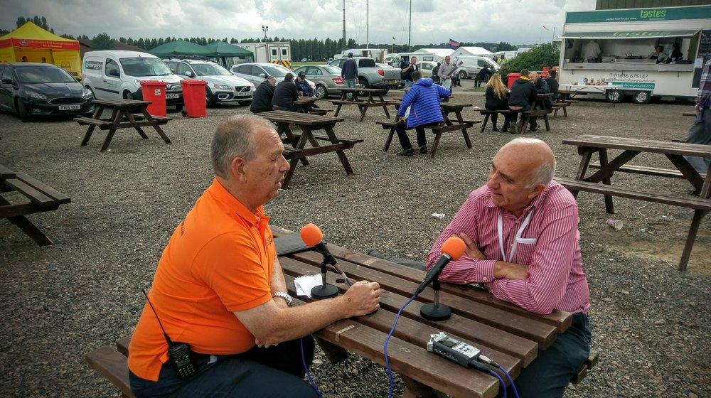 Martin Butler (M1MRB / W9ICQ) interviews Don Field (G3XTT)
