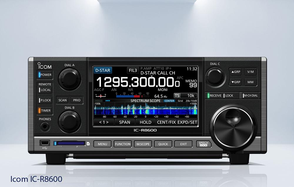 ICOM IC-R8600 SDR