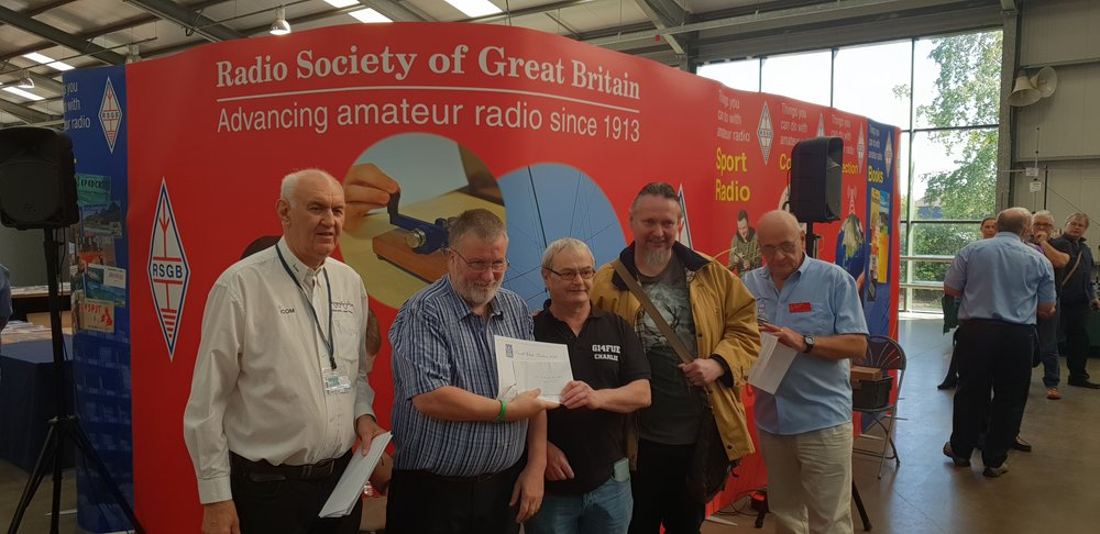 RSGB 2017 Club of the Year 3rd Place - Small Clubs - Greenisland Electronics & ARS
