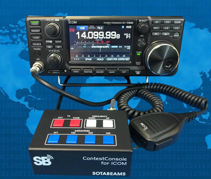 SOTABeam ContestConsole Switching Unit for ICOM Amateur Radios