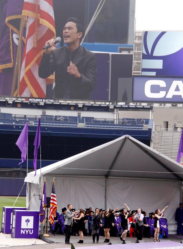 Steinhardt Singers @ Yankee Stadium